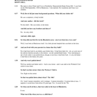 Transcript of interview with Alice Potter